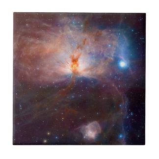 The Flame Nebula NGC 2024 Star Forming Region Ceramic Tile