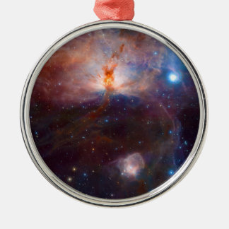 The Flame Nebula NGC 2024 Star Forming Region Metal Ornament