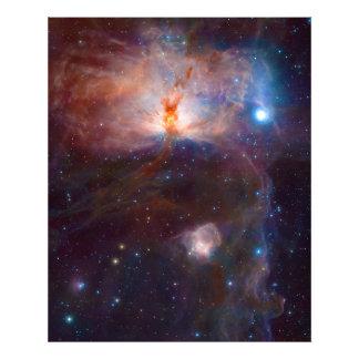 The Flame Nebula NGC 2024 Star Forming Region Photo Print