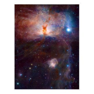 The Flame Nebula NGC 2024 Star Forming Region Postcard