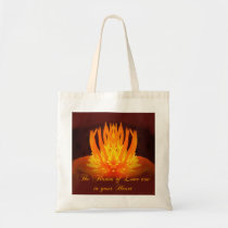 The Flames-of Love budget tote bag