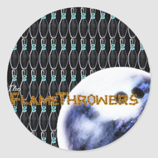 The FlameThrowers Classic Round Sticker