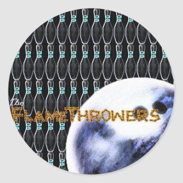 flamethrowers The FlameThrowers Classic Round Sticker