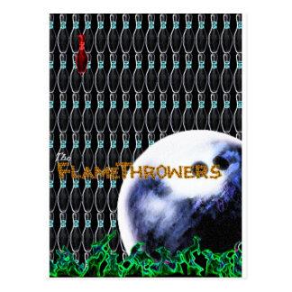 The FlameThrowers Postcard