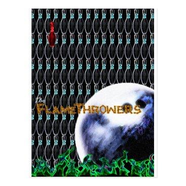 flamethrowers The FlameThrowers Postcard