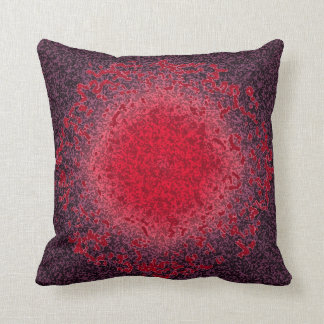 The Flaming Throw Pillow