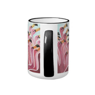 the Flamingo Ringer Mug