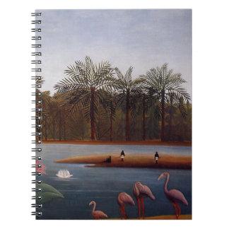 The Flamingos Notebook