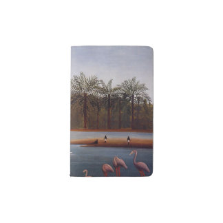 The Flamingos Pocket Moleskine Notebook