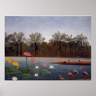 The Flamingos Poster