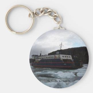 The Flanders, Bell Island, NL Key Chain