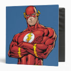 The Flash Arms Crossed 3 Ring Binder