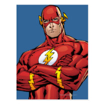 flash, lightning, bolt, barry, allen, wally, west, bart, bizarro, justice league heroes, justice, league, justice league logo, justice league, logo, hero, heroes, dc comics, comics, comic, comic book, comic book hero, comic hero, comic heroes, comic book heroes, dc comic boo, Postcard with custom graphic design