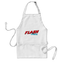 flash, lightning, bolt, barry, allen, wally, west, bart, bizarro, justice league heroes, justice, league, justice league logo, justice league, logo, hero, heroes, dc comics, comics, comic, comic book, comic book hero, comic hero, comic heroes, comic book heroes, dc comic boo, Apron with custom graphic design