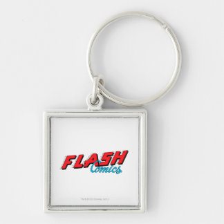 The Flash Comics Keychain