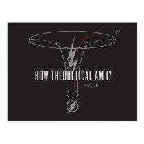 "The Flash | ""How Theoretical Am I?"" Postcard"