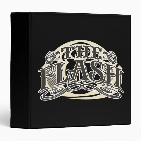 The Flash - It's Showtime! Letters Binder