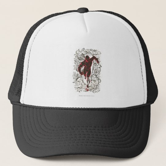 The Flash - It's Showtime! Poster Trucker Hat