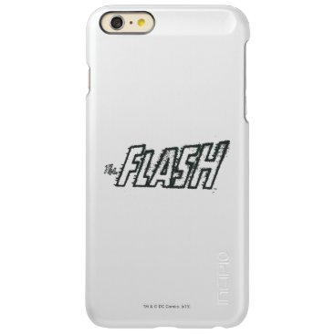 The Flash Letters Grunge Incipio Feather Shine iPhone 6 Plus Case