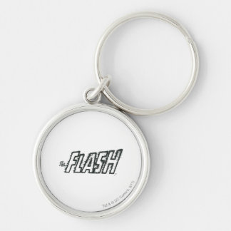 The Flash Letters Grunge Keychain