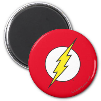 The Flash | Lightning Bolt 2 Inch Round Magnet