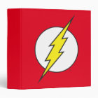 The Flash | Lightning Bolt 3 Ring Binder