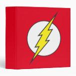 The Flash Lightning Bolt 3 Ring Binder