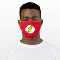 The Flash   Lightning Bolt Adult Cloth Face Mask