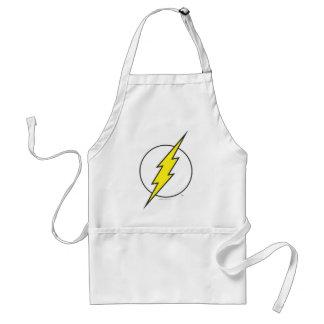 The Flash Lightning Bolt Adult Apron
