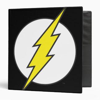 The Flash Lightning Bolt Binder
