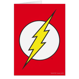 Barrie greeting cards zazzle the flash lightning bolt card bookmarktalkfo Gallery