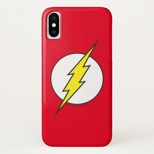 The Flash | Lightning Bolt iPhone X Case