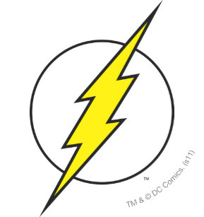 The Flash Lightning Bolt Stickers