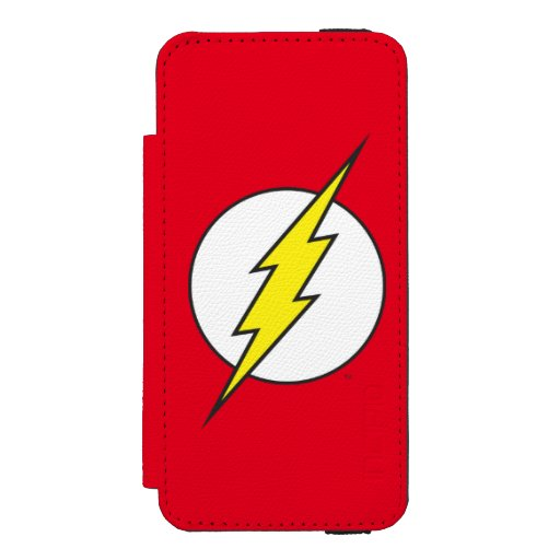 The Flash | Lightning Bolt Wallet Case For iPhone SE/5/5s