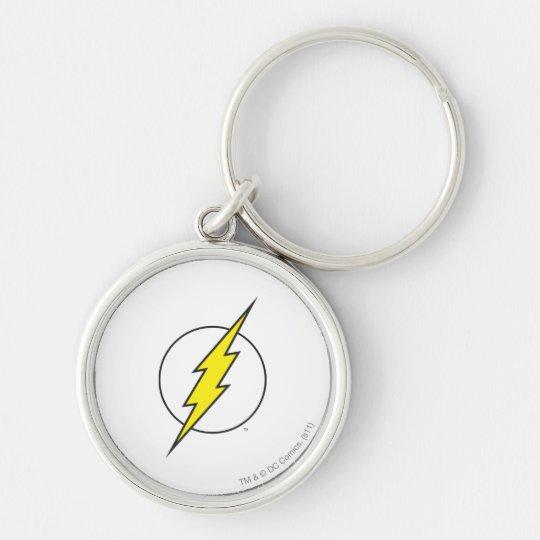 The Flash   Lightning Bolt Keychain