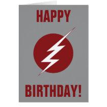 The Flash | Lightning Bolt Logo Card