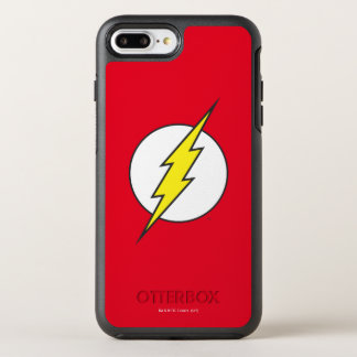The Flash Lightning Bolt Logo OtterBox Symmetry iPhone 7 Plus Case