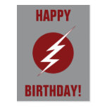 The Flash | Lightning Bolt Logo Postcard