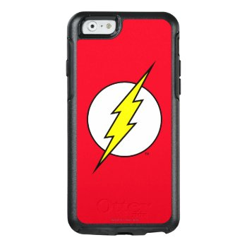 The Flash | Lightning Bolt Otterbox Iphone 6/6s Case by justiceleague at Zazzle