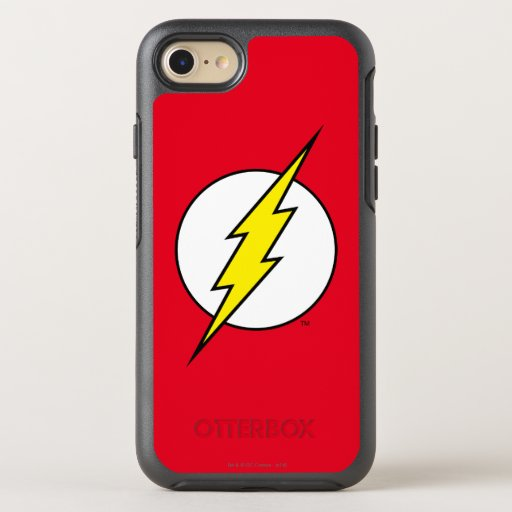The Flash | Lightning Bolt OtterBox Symmetry iPhone SE/8/7 Case