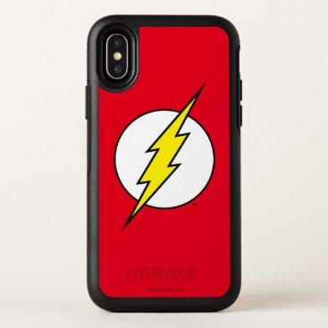 The Flash   Lightning Bolt OtterBox Symmetry iPhone X Case