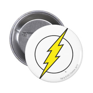 The Flash Lightning Bolt Pinback Button