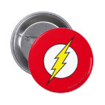 The Flash Lightning Bolt Pinback Button