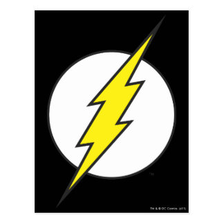 The Flash | Lightning Bolt Postcard