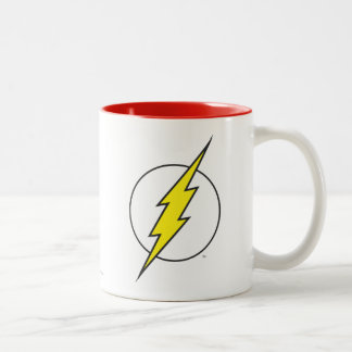 The Flash Lightning Bolt Two-Tone Coffee Mug