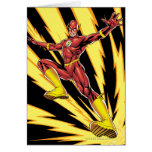 The Flash Lightning Bolts Card