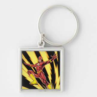 The Flash Lightning Bolts Keychain