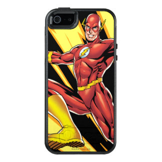 The Flash Lightning Bolts OtterBox iPhone 5/5s/SE Case