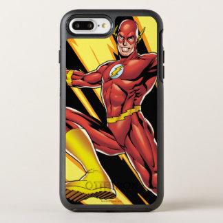 The Flash Lightning Bolts OtterBox Symmetry iPhone 8 Plus/7 Plus Case