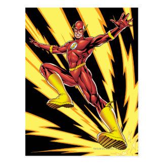 The Flash Lightning Bolts Postcard